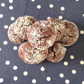 Crinkles au chocolat, croquant et moelleux, la recette / Cuisine / Blog 9 MOI(S) d'envies à Nantes, mode femme, mode grossesse, cuisine, couture, kids, beauté...